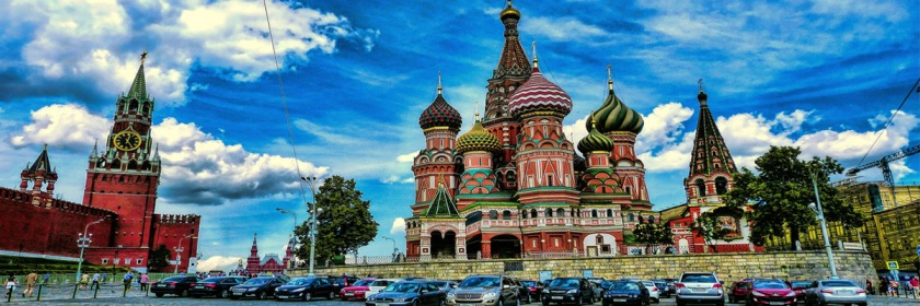 The Kremlin and St. Basil Russian Orthodox Church in Moscow. Photo: Mariano Mantel/Flickr/Creative Commons