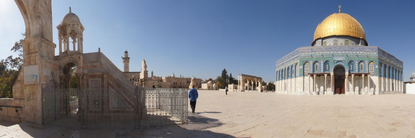 Dome of the Rock on the Temple Mount, Jerusalem Photo: jordan Pickett/Flickr/Creative Commons