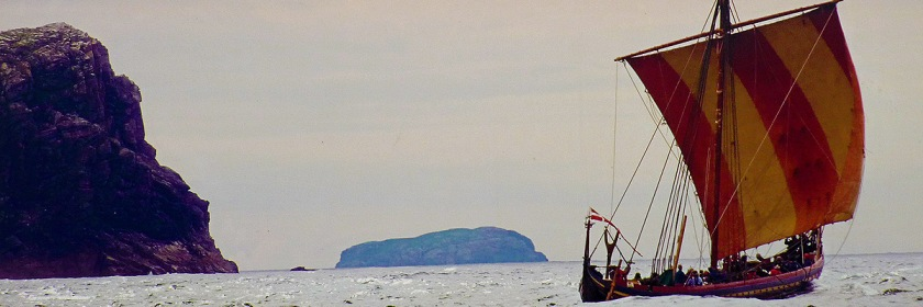 Replica of a Viking ship. Photo: valt98/Flickr/Creative Commons