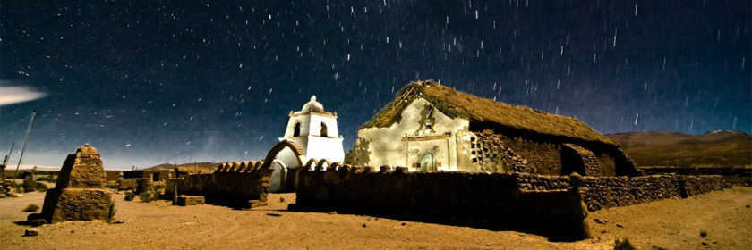 Church (Igesia de Mauque) in the Andean Mountains of Chile. Photo: Pablo Necochea/Flickr/Creative Commons