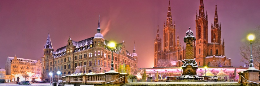 Market Church in Wiesbaden, Germany. Photo: Kay Gaensler/Flickr/Creative Commons