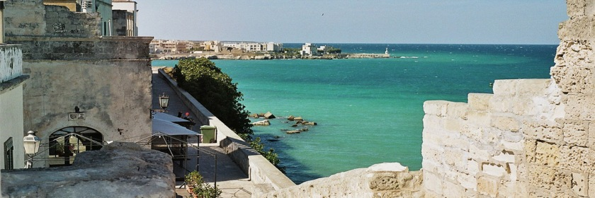 Otranto harbour as seen from the castle. Photo: Marco Frattola/Flickr/Creative commons