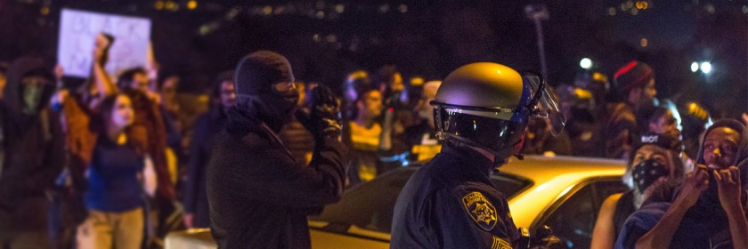 Oakland Protest Photo: Jaegar Moore/Flickr/Creative Commons