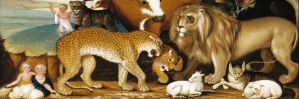 The Peaceable Kingdom by Edward Hicks (1780-1849)