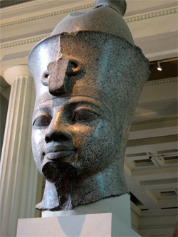 Amenhotep 3 - Wikipedia/British Museum