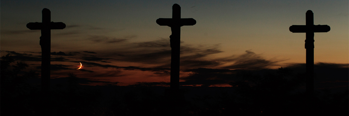 Crosses near Budapest, Hungary Credit: Gyorgy Soponyai/Flickr/Creative Commons