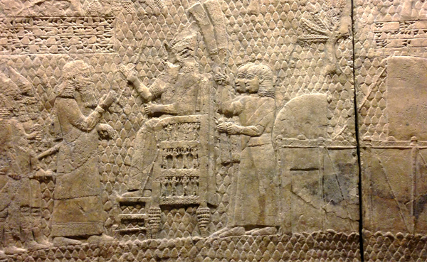 Don't think Assyrian domination of israel evidence
