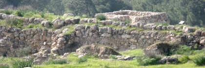 Tel Lachish from inside the city. Credit: Wikipedia/Liadmalone