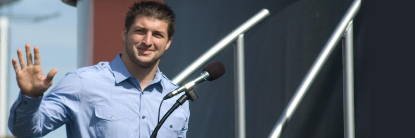 Tim Tebow Credit: Duane Schoon/Flickr/Creative Commons