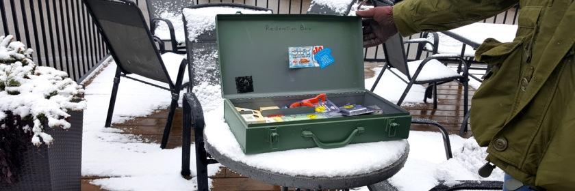 Wayne's redemption box