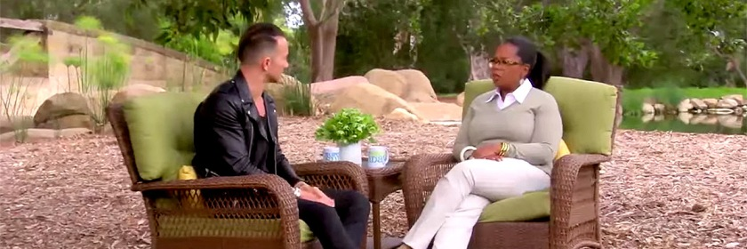 Carl Lentz during his interview with Oprah. Credit: Youtube capture/Own Channel