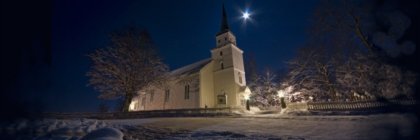 A church in Egge, Norway. Credit: Gert Andreas Barring/Flickr/Creative Commons
