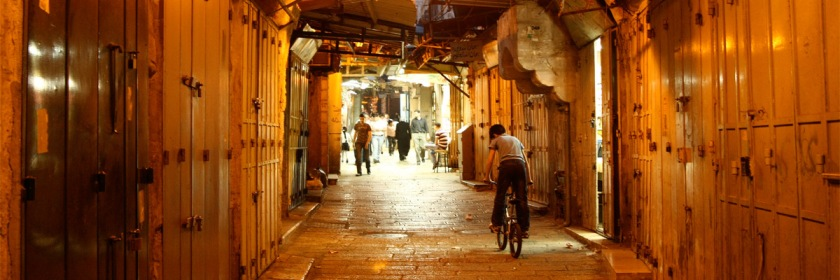 Muslim quarter of Old Jerusalem. Credit: meghamama/Flickr/Creative Commons