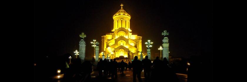 Sameba (Trinity) church in Tbillsi, Georgia Credit: Berdo Maghularia/Flickr/Creative Commons
