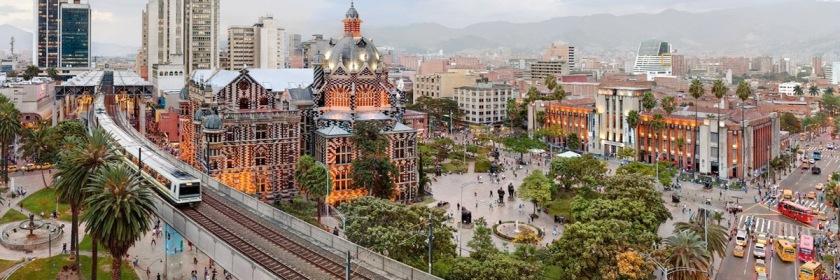Medellin, Columbia site of the Brazilian plane crash that killed 71. Credit: Wikipedia