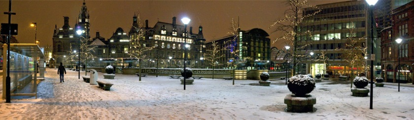 A wintry day in Sheffield, England. Credit: Wojtek Gurak/Flickr/Creative Commons