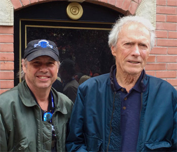 Todd Fisher (Left) and Clint Eastwood (Right) Credit: Todd Fisher Twitter @tafish