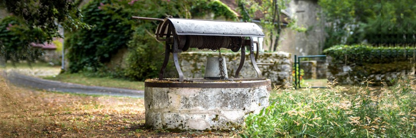 Old well in France Credit: Jean Guillaume Coutard/Flickr