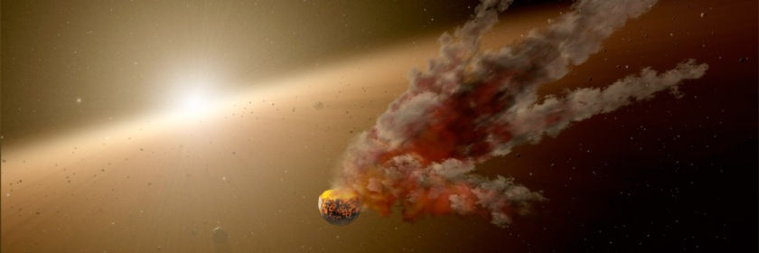 Artist's rendering of an asteroid. Credit: Nasa/JPL-caltech/Wikipedia