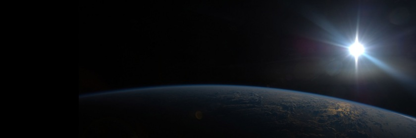 Sun appearing over the India Ocean Credit: Nasa/Flickr