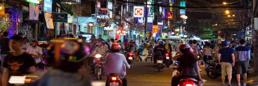 Ho Chi Minh city (formerly Saigon) Viet Nam. Credit: Colin Key/Flickr/Creative Commons
