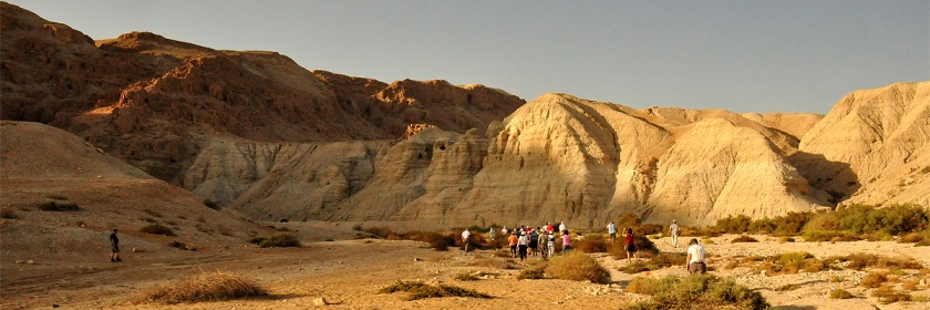 The Wadi-Qumran Credit: Otto_Friedrich45/Flickr/Creative Commons