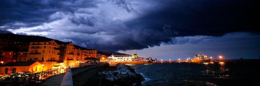 Storm clouds over Corsica, France Credit: hippolyte/Flickr/Creative Commons