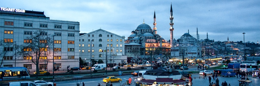 Istanbul, Turkey Credit: Filip Knezic/Flickr/Creative Commons