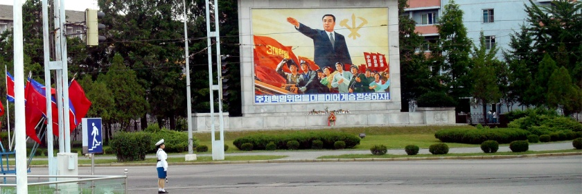 Streets of Pyongyang, the capital city of North Korea Credit: Keith Martin/Flickr/Creative Commons