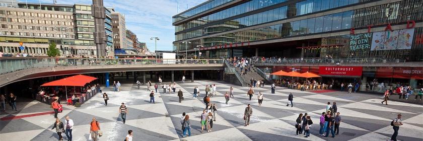 Sergels Square, Stockholm, Sweden Credit: Joakim Johansson/Flickr/Creative commons