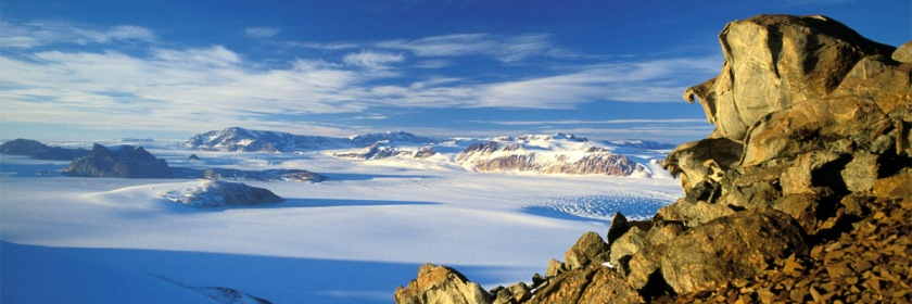 A view of the Transantarctic Mountain Range in summer. Credit: Hannes Grobe/Wikipedia/Creative Commons