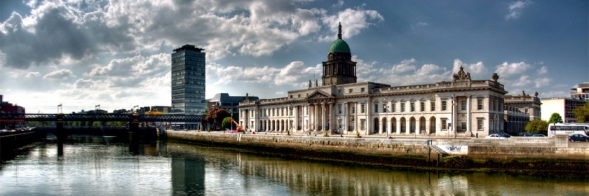 Custom House in Dublin, Ireland Credit: motorito/Flickr/Creative Commons