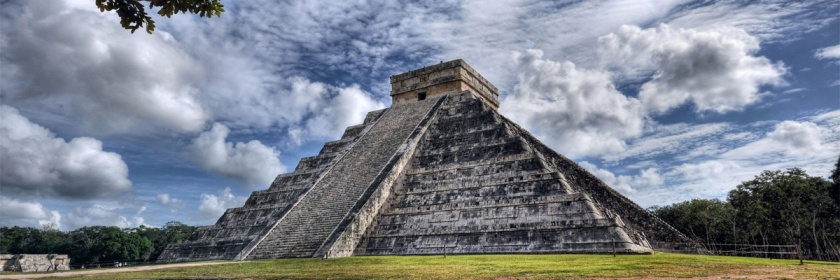 Curiously temples in Mexico are patterned off the same design as the Tower of Babel. Credit: Brian Hoffsis/Flcikr/Creative Commons