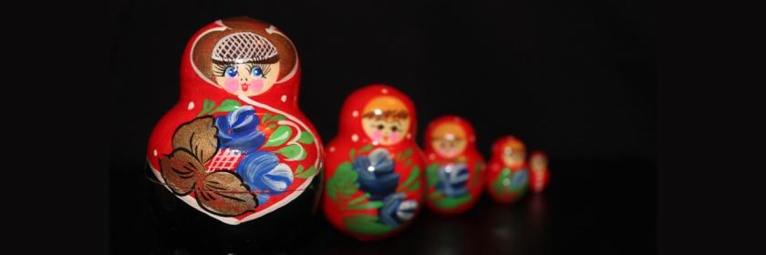 Proportional Russian nesting dolls Credit: Elentari86/Flickr/Creative Commons