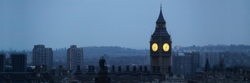 England's Big Ben at dawn Credit: Chris Goldberg/Flickr/Creative Commons