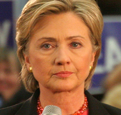 Hillary Clinton Credit: Aaron Webb/Flickr/Creative Commons