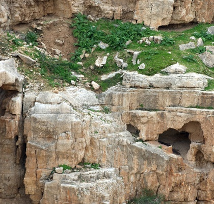 St. George Monastery (Orthodox Church) was constructed at a cave thought to be the place where the Prophet Elijah hid after fleeing Jezebel. Credit: Catholic Church of England/Flickr/Creative Commons