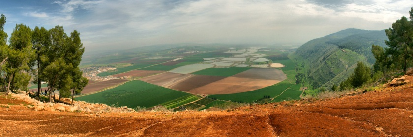Jezreel Valley in Israel. Credit: vad_levin/Flickr/Creative Commons.jpg