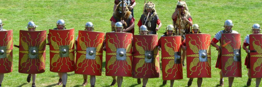 Roman Centurions enactment Credit: Mike Bishop/Flickr/Creative Commons