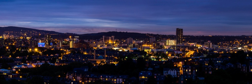 Sheffield England, home to a divine healing. Credit: Ben Ponsford/Flickr/Creative Commons
