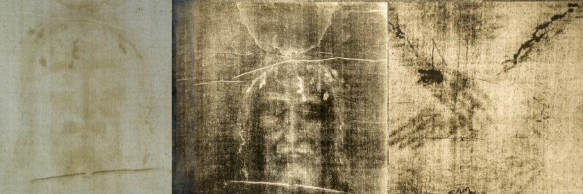 Various images of the Shroud of Turin
