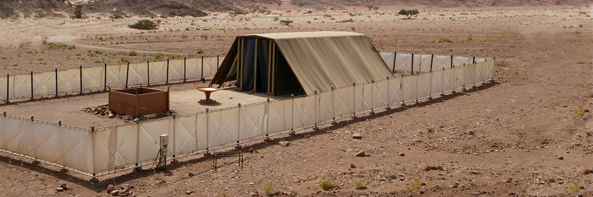 Model of the Tabernacle of Moses in Timna Park Israel. Credit Ruk7/ & Grab Hold | OpentheWord.org
