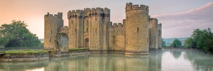 Bodian Castle, East Sussex, England Credit: Antony McCallum/Wikipedia
