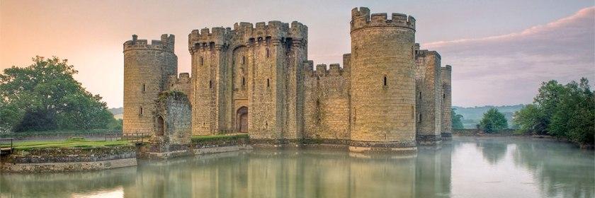 Bodian Castle, East Sussex, England Credit: Antony McCallum/Wikipedia