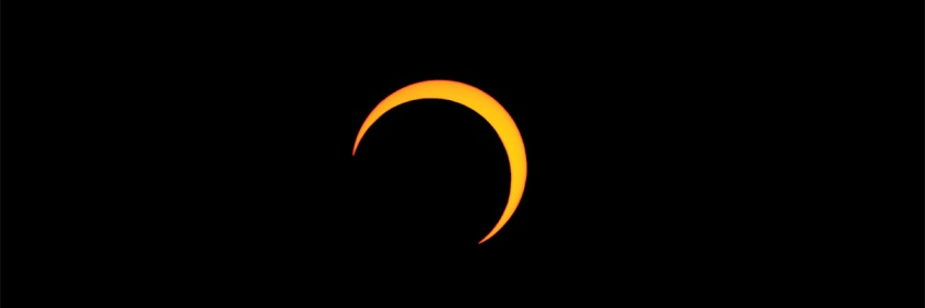 Partial eclipse of the sun that took place on May 20, 2012 in Salt Lake City, Utah Credit: Thephatphilmz/Wikipedia