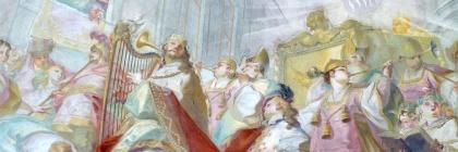 King David made Mykytiuk's list. Fresco of King David bring the ark of the Covenant into Jerusalem by Johann Baptist Wenzel-bergl Credit: Wolfgang Sauber/Wikipedia