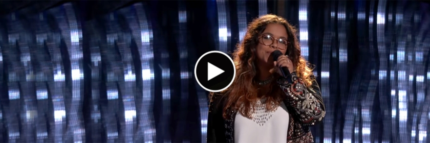 Brooke Simpson Blind audition Credit: Youtube Caputer/The Voice