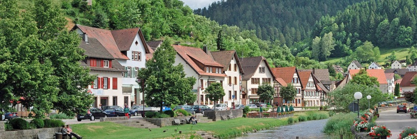 Schiltach in the Black Forest of Germany Credit: Harke/Wikipedia