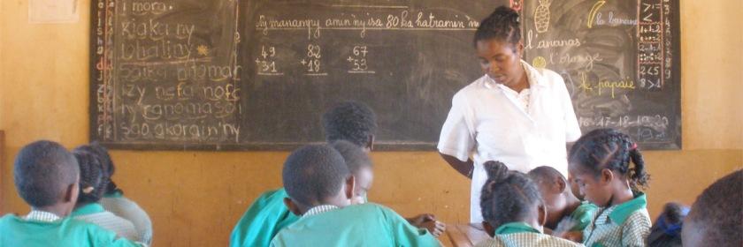 A school in Madagascar Credit: lemurbaby/Wikipedia