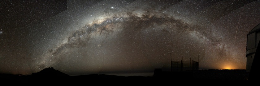The Milky Way viewed from Chile. Credit: Bruno Gilli/ESO/Wikipedia